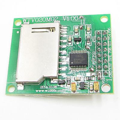 WTV020-SD-20SS SD Card U Disk Audio Player Voice Module MP3 Voice Module