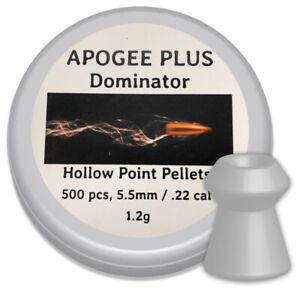 Apogee-Dominator-Hollow-Point-Air-gun-pellets-22-Cal-5-5mm-Qty-500-free-P-amp-P