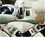 Chrome matte Car Center Console Cup Cover Trim For Nissan X-Trail Rogue 2014-16