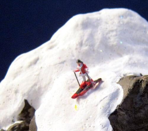 JW04-06 Skifahrer verschiedene Figuren zur Auswahl Spur Z 1:220
