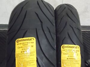 CONTINENTAL Motion Sport Touring Radial Tire Rear 200//50ZR17