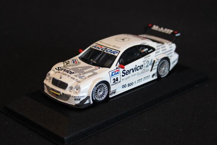 Minichamps Mercedes-Benz CLK-DTM 2000 1:43 #24 Pedro Lamy (POR) (JS)