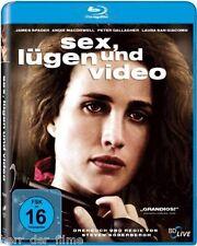 SEX, LÜGEN UND VIDEO (Andie MacDowell) Blu-ray NEU+OVP