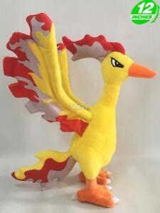 RARE-BIG-12-inches-Wow-Pokemon-Moltres-Plush-Stuffed-Doll-PNPL6291