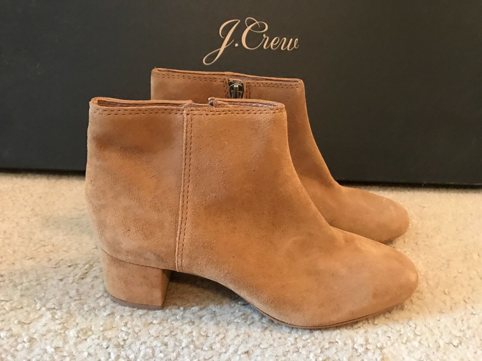 MADEWELL THE LUCIEN BOOT IN SUEDE SIZE SIZE SIZE 9M BRONZED BIRCH G0422 e7d95c