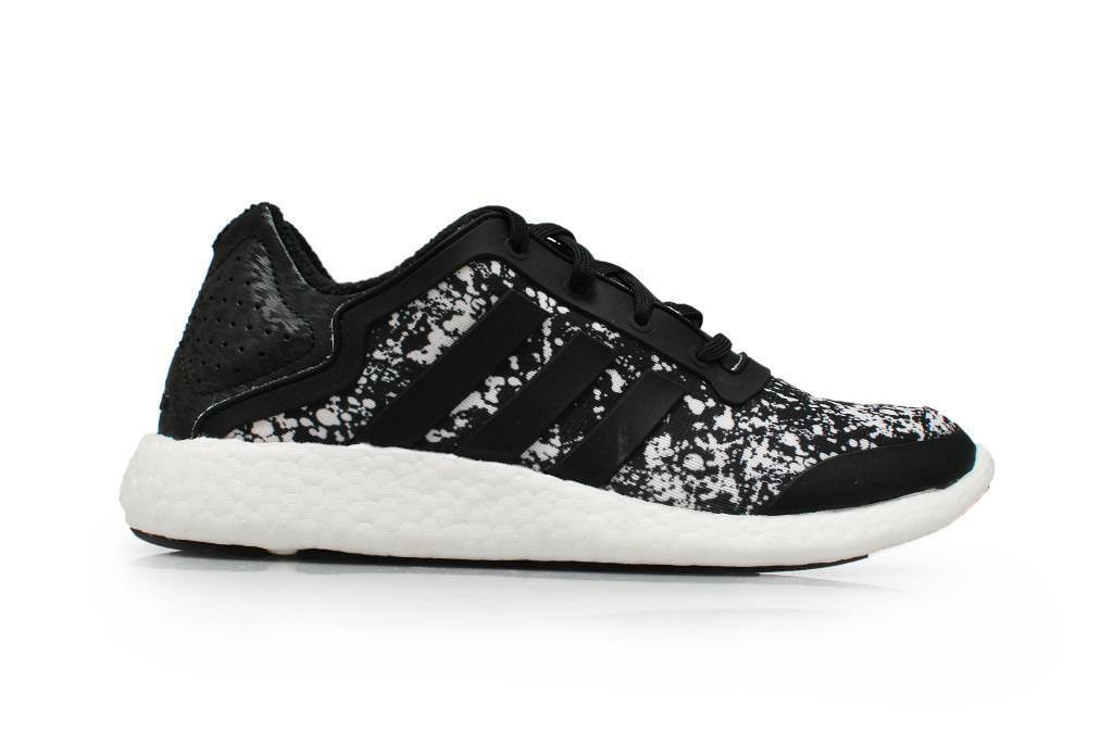 Womens Adidas Pureboost W Q4 - M21408 - Black White Trainers