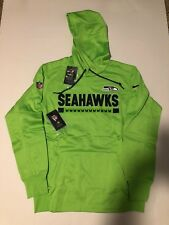 best service 0a645 e8df9 Seattle Seahawks Nike Therma Fit Sideline Hoodie Sweatshirt ...