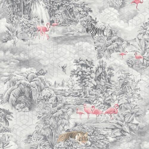 Holden Kaléidoscope abritant Papier Peint-tropical scène avec motifs géométriques Détail