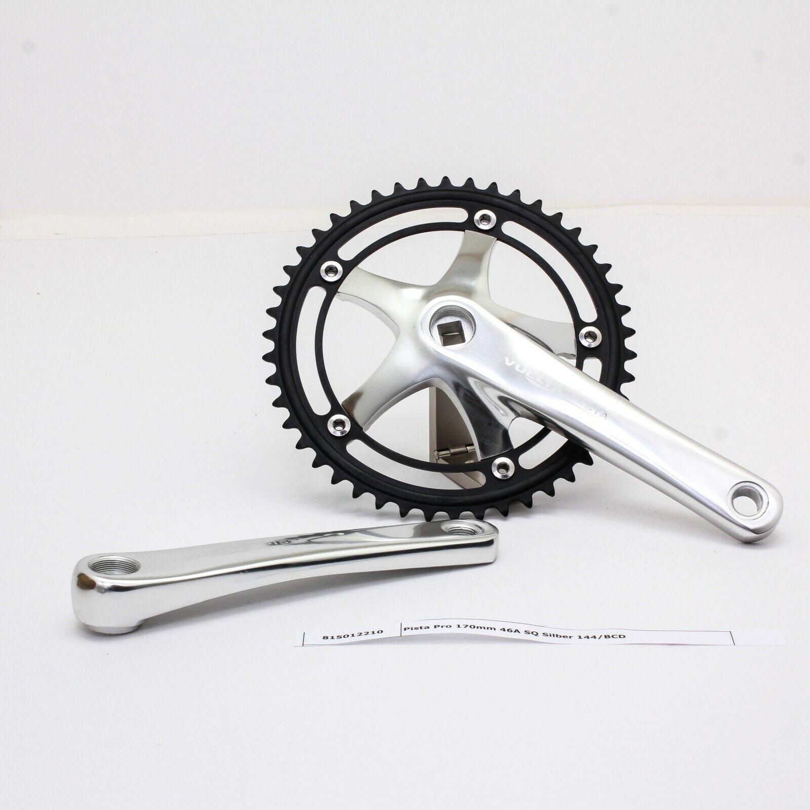 Vuelta Pista Comp Fixed Gear 46T 165mm Black Track Crankset
