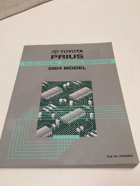 2004 Toyota Prius Electrical Wiring Diagram Manual