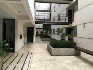Departamento en renta exterior en Col. Del Valle