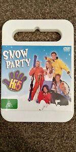 HI-5-Snow-Party-DVD-Region-4-VGC-Free-Postage