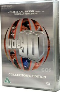 JOE-90-DVD-Boxset-Gerry-Anderson-Collector-039-s-Edition-The-Complete-Series-New