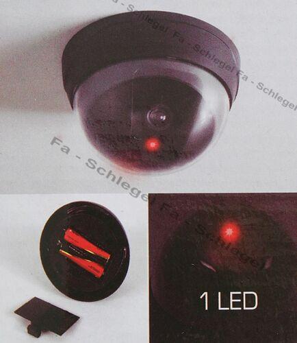 WOW 4x Dummy Kamera Überwachungskamera LED Abschreckung Attrappe Sicherheit Haus