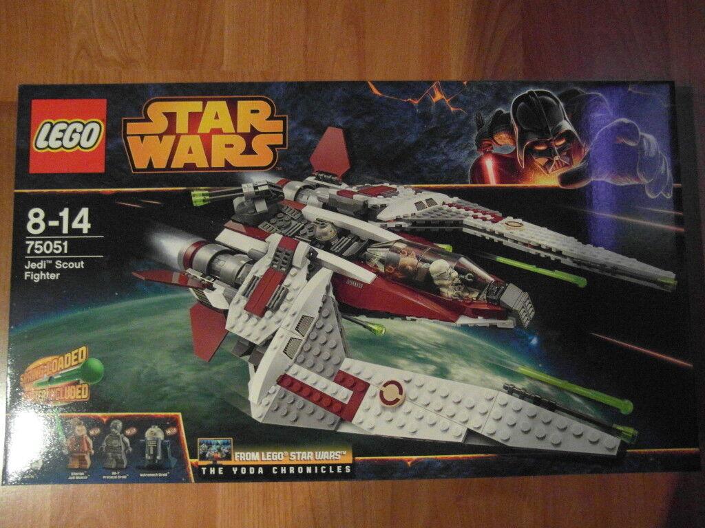 LEGO  estrella guerras 75051 Jedi Scout combatiente NUOVO NUOVO NUOVO  negozio online outlet