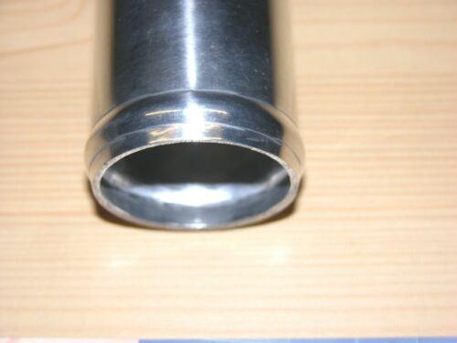 """NUOVO Connettore in alluminio 64 mm 2,5/"""" Alurohr brevemente 7,5cm Tubo Flessibile Connettore Tubo LLK"""