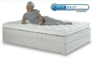 reversible coolmax topper mattress bed pad natural product company wool