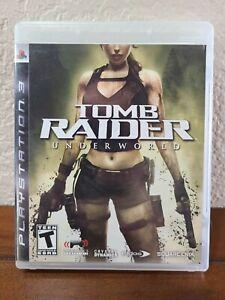 Tomb Raider: Underworld (Sony PlayStation 3, 2008) PS3