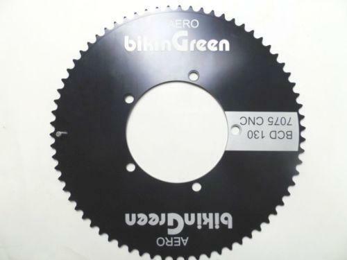 Bikingreen 70T BCD130 Recumbent Chainring CNC 7075  Road Fixie Floding  TT