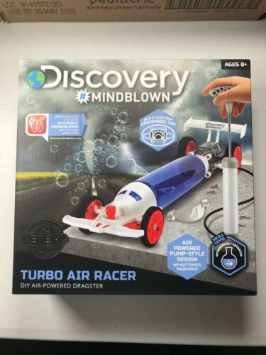 DISCOVERY TURBO AIR RACER DIY AIR-POWERED DRAGSTER KIT