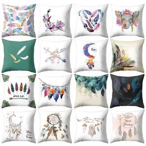 Am-Bohemia-Feather-Moon-Pillow-Case-Cushion-Cover-Sofa-Bed-Car-Home-Decor-Novel