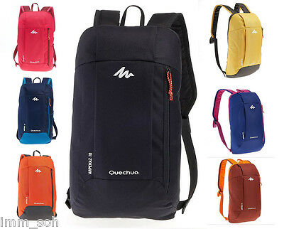 BACKPACK 10L SMALL,LIGHT HIKING,COMFORTABLE UNISEX KIDS QUECHUA RUCKSACK OUTDOOR