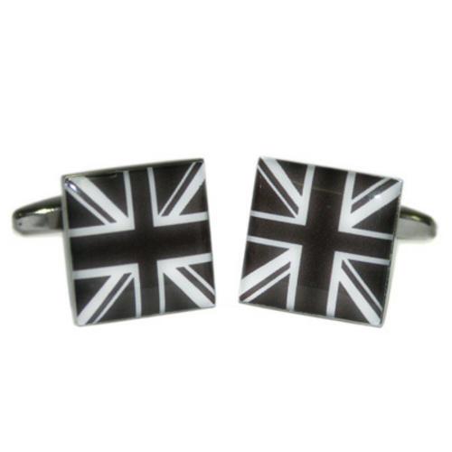 Black /& White plaza Union Jack Gemelos Con Bolsa De Regalo del Reino Unido Reino Unido