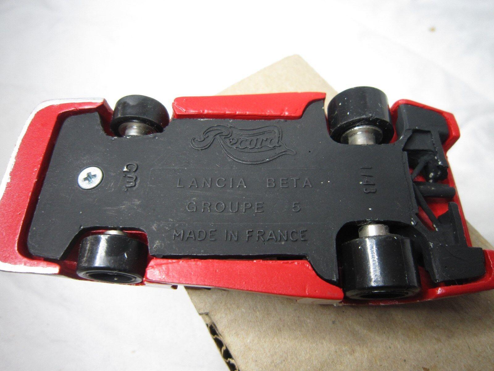 DV7195 RECORD LANCIA BETA MC LM80 LE LE LE MANS 1980 1 43 KIT DARNICHE HEYER FABI 5fb093
