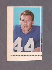 1969 Glendale Stamps Dick LeBeau, Detroit Lions
