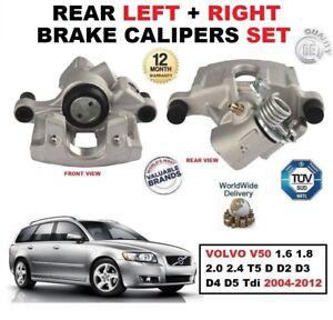 FOR Volvo V50 2.0D 2.4 D3 D4 New FRONT  Discs Pads Set KIT