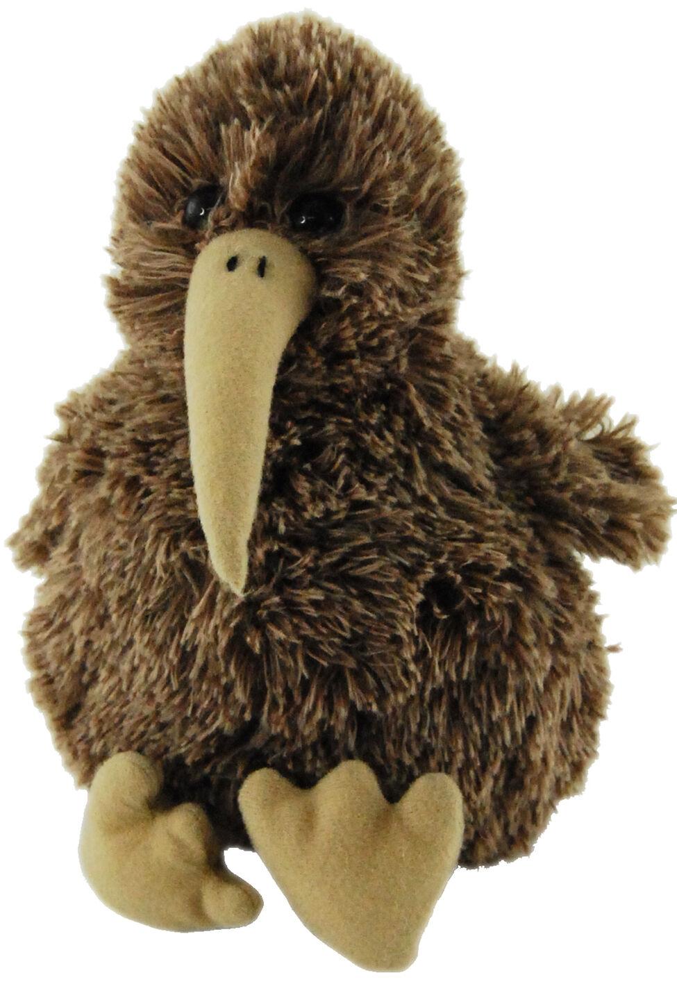 New Cute Sitting New Zealand Nz Kiwi Bird Soft Soft Bird Plush Toy