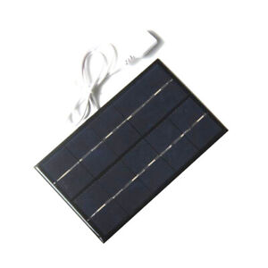2W-5V-USB-Solar-Panel-Solar-Charger-Pane-USB-Port-Mobile-Phone-Travel-Portable-Z