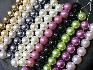 25pcs-x-16mm-Faux-Pearl-Beads-Large-Size-Choose-Colours-Craft-Jewellery-Making
