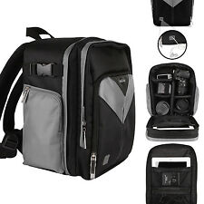 SLR DSLR Camera & Tablet Backpack Bag for Mamiya Leica Rollei Zeiss Hasselblad