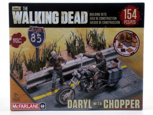 McFarlane Walking Dead DARYL DIXON with CHOPPER Building Set 154 pc Construction