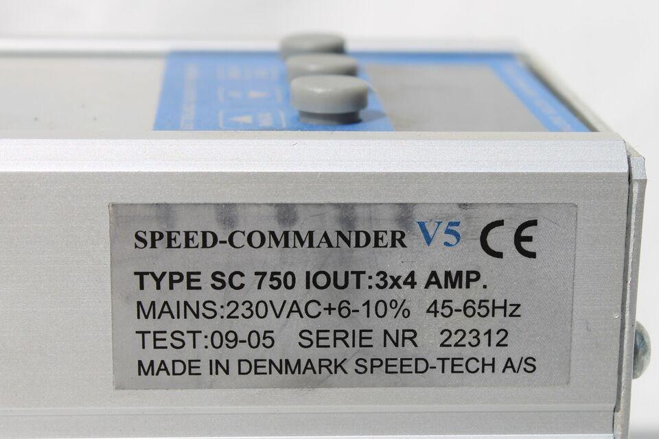 Frekvensomformer, SPEED COMMANDER V5