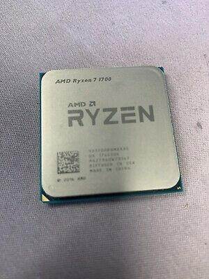 Bent And Broken Pin Sold As Is Amd Ryzen 7 1700x 3 8ghz Eight Core Processor Ebay
