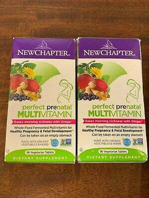 Best Whole Food Multivitamin 2021 New Chapter Perfect Prenatal Multi Vitamin 192 Tablets Sealed Exp