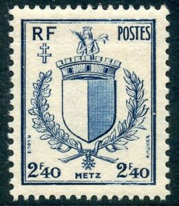 Timbre France Neuf N° 734 ** Armoirie Metz Famous For Selected Materials Novel Designs Delightful Colors And Exquisite Workmanship