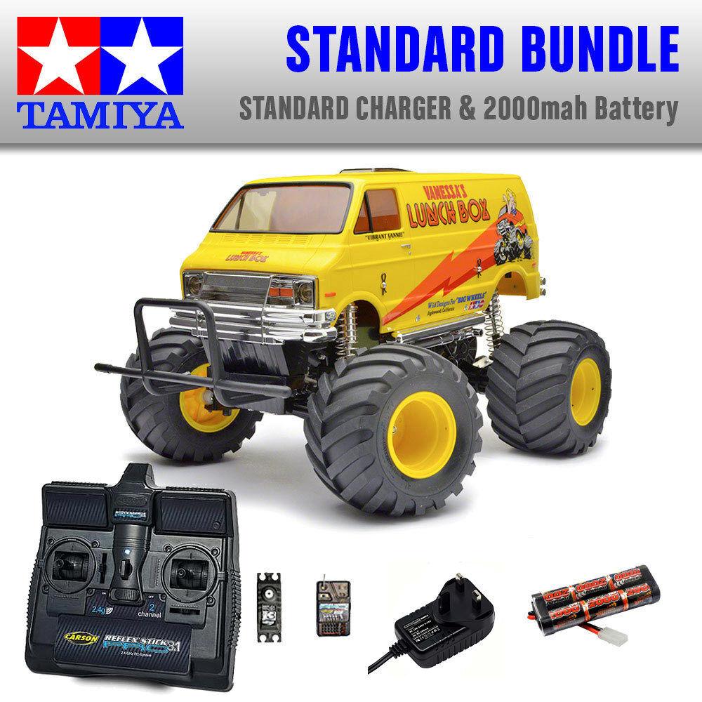 TAMIYA Lunch Caja RC coche estándar paquete 58347