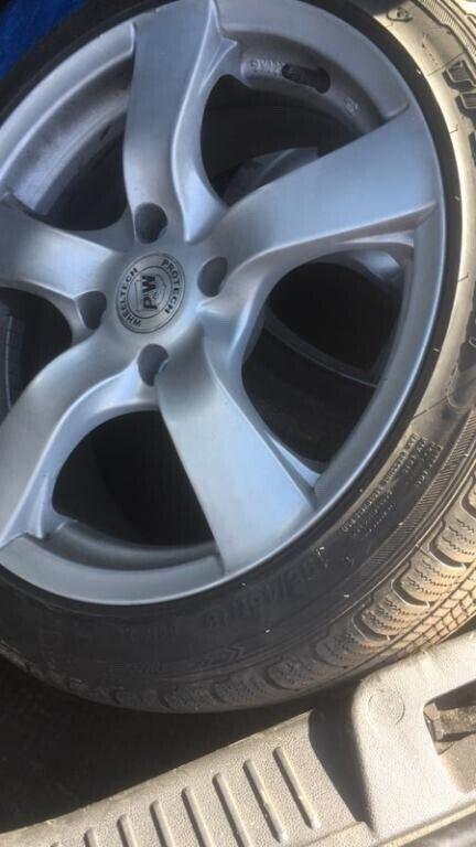 Alufælge, sommerdæk, fælge med dæk