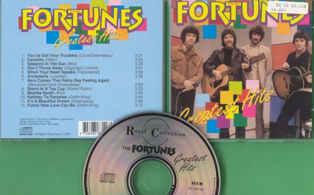 Fortunes The - CD - Greatest Hits - CD von 1991 - ! ! ! ! !