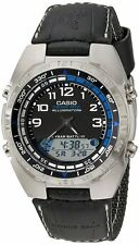 Casio AMW700B-1AV, Fishing Timer, Moon Phase, Countdown Alarm, 100 Meter WR