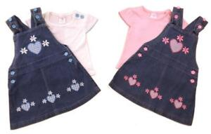 Girls-denim-pinafore-embroidered-appliqued-flower-and-hearts-design-set