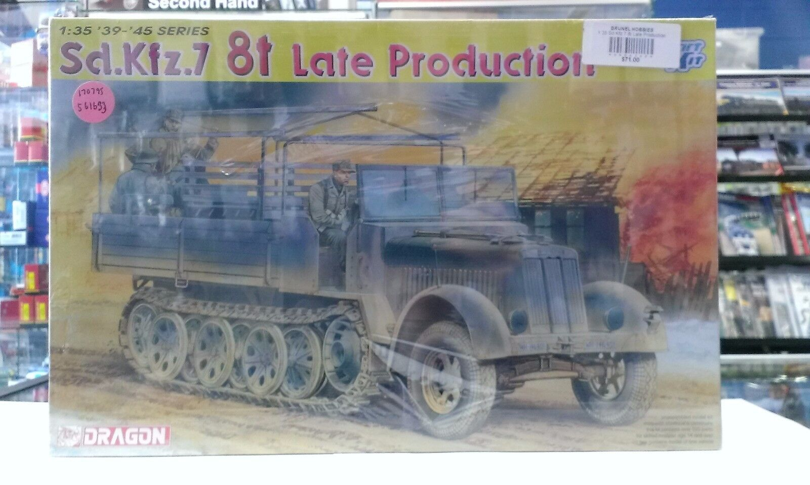Dragon Models 6562 - 1 35 Whermacht Sd.Kfz.7 8t Late Production Smart Kit
