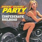 Rockin' Country Party Pack by Confederate Railroad (CD, Apr-2008, Flashback Records)