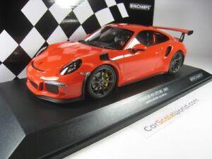 Porsche 911 Gt3 Rs (991) 2015 1/18 Minichamps (lave orange)