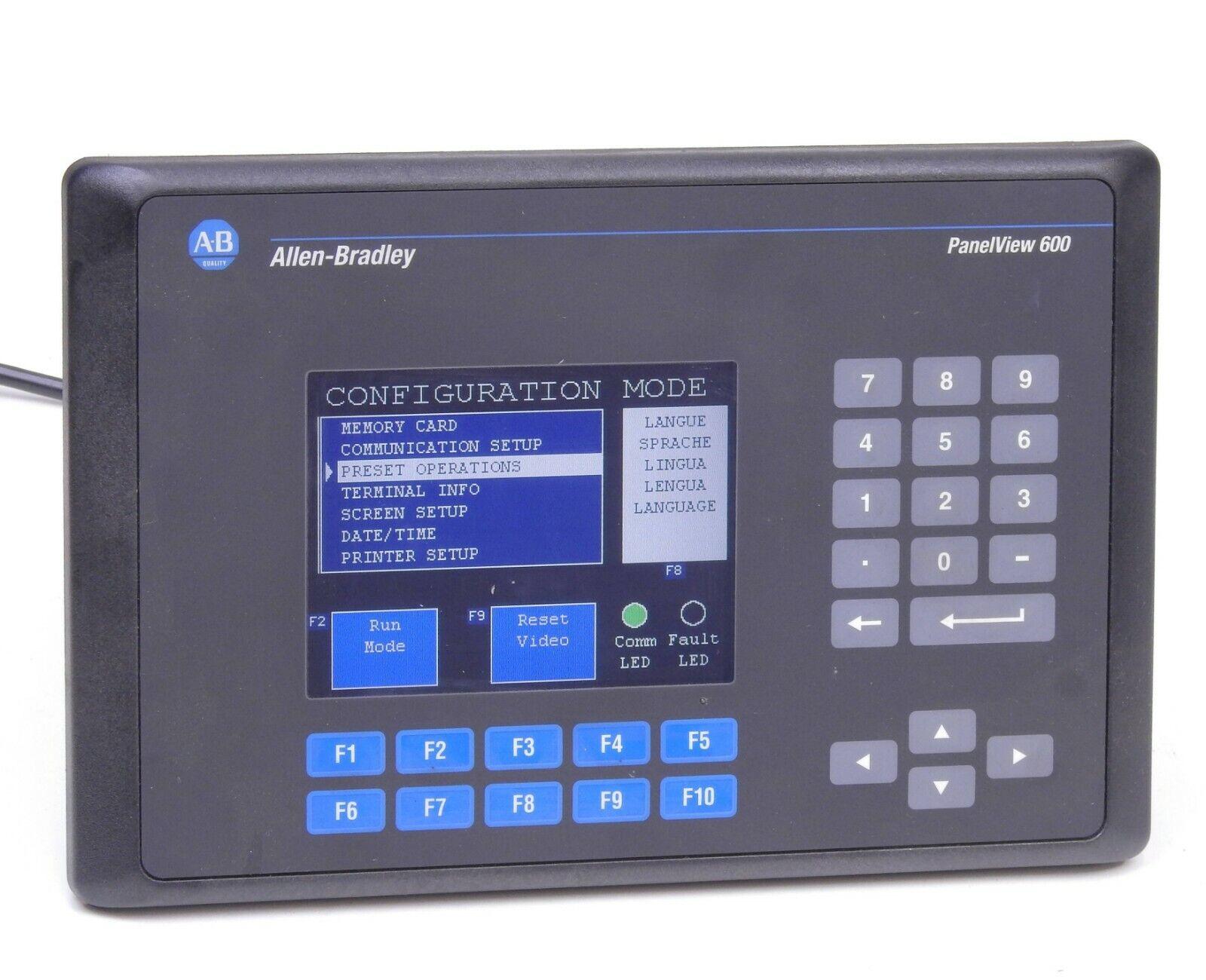 Allen Bradley  2711-B6C16 PanelView