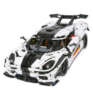 Cambio de coche de carreras Conjunto de juguetes de bloques de construcción de modelos ladrillos juegos para niños Kits