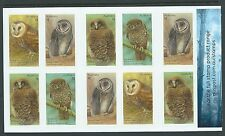 AUSTRALIA 2016 OWLS SELF ADHESIVE BOOKLET UNMOUNTED MINT